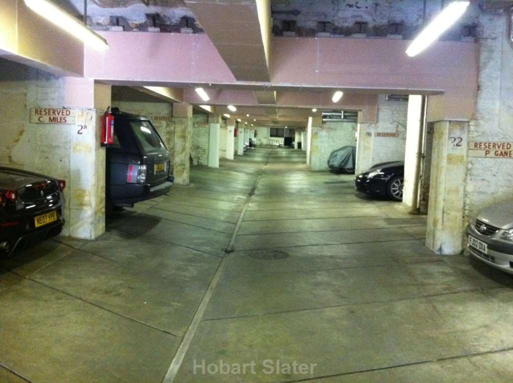 Garage Space, Rutland Gate, Knightsbridge SW7