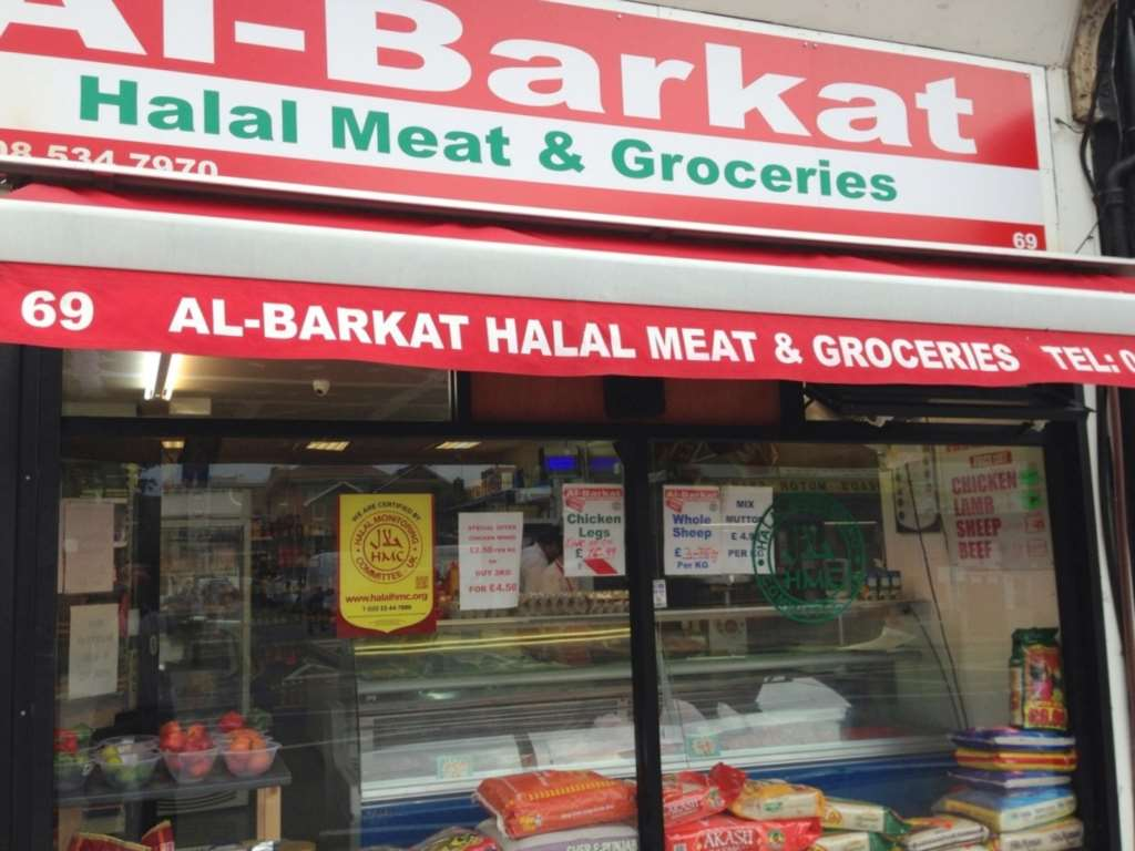 Halal Butchers on Portway, Stratford