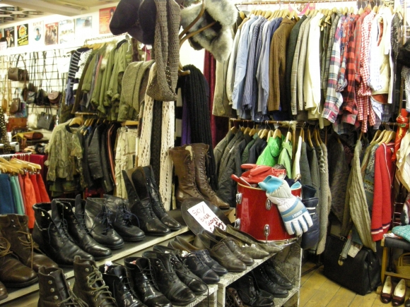 Magasins de vêtements vintage